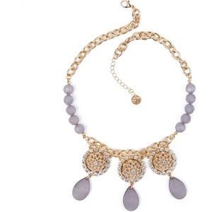 Plunder Statement Crystal Beaded Necklace